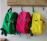 baby retail business - New style retail Brand Baby Boy Girl schoolbag Kids casual backpack rucksack Childrens bags Canvas pack Child polo packsack