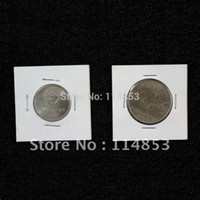 Wholesale 150 x2 Cardboard Mylar Paper Coin Holders Flips Supplies For Diameter mm For Coin And Money