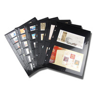 bamboo pets - professional postage stamp brands album for pages sheets loose leaf cm PET PVC rows pockets