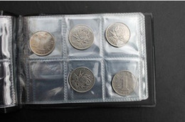 Wholesale Mini Commemorative Coin Collection Book Pages Pockets Collection Coin Holders