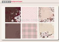 art photo albums - Elegant Diy handmade scrapbooking kit w photo album D stickers art paper to decorate memory moment