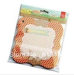 Mini handmade diy small photo album cutting board scrapbooking picture album decoration accessories free shipping