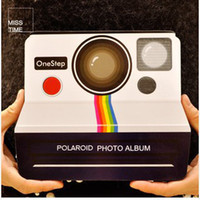 Wholesale vintage Polaroid cameras Album The bulk album book diy handmade paste photo album