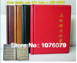 Wholesale Coin collection book set currency copies commemorative coin book collection book Coin album can put COINS