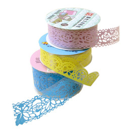 Wholesale Diy big ben handmade baby photo album tools and materials lace tape pices a sets freeshipping