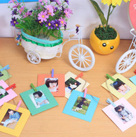 bamboo wall hangings - 10 Inch DIY Cute Wall Hanging Colorful Paper Photo Frame for Pictures Home Decoration Gift