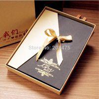 album box - luxury gift box diy photo album paste type Korean couples baby manual series