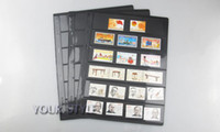 bamboo stamps - Banknotes pvc black Page world Paper Money Album world Paper Money stamp Collection NO Six line X CM