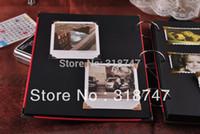 antique baby photos - DIY vintage Antique Black Hard Paper Crafts Butterfly Baby Wedding Photo Album