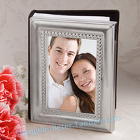 bamboo place card holders - 50pcs BeterWedding Gift Mini Photo Album Favor Place Card Holder Wedding Souvenirs Wedding photo frame XC006 A