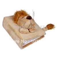 baby lion photos - 1pc EOZY Light Brown Lion Children Cartoon Animal Photo Album Cover Without Album Soft Plush Cover Baby Scrapbook Kids Gift