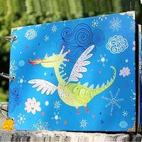 baby scrapbook pictures - inch DIY photo album Scrapbook Paper Crafts for baby lover picture photograph holder