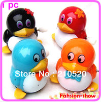 alex toys - alex pc New Children Kids baby Gift Funny Lovely Walk Penguins Clockwork Wind Up Party Toy