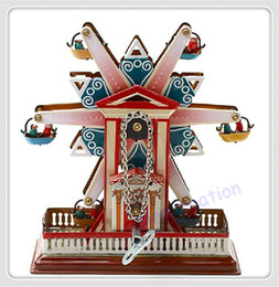 Wholesale Clockwork Tin Ferris Wheel Toys Great Classic Retro Collectible Gift Toys For Children And Adults