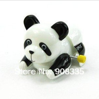 al gifts - AL x Wind Up plastic Toy Wiggle Buttock Panda bear Kids party gift