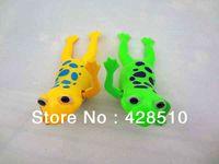 abc environmental - Newest Toys Bath Toys Wind Up Toys Environmental odorless ABC Happy Bathing Swimming Frog