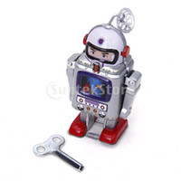 astronaut toy - Wind Up Robot Mechanical Astronaut Toy Collectible Gift