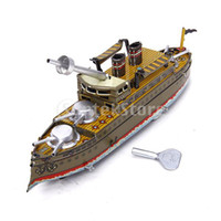 battleship toys - Wind Up Battleship Toy Collectible Gift