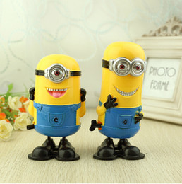 Wholesale Despicable Me Minions D Funny wind up Clockwork running Toys baby kids toys scale model Idea Gift