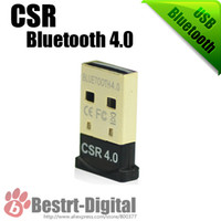 mini cd adapter - Powerful Mini USB Bluetooth version Dongle CSR Bluetooth Adapter for Mobile Computer With CD Driver Drop Shipping