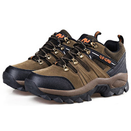 New brand outdoor sports men athletic shoes mountain hiking camping hunting sport equipment sport shoes boots