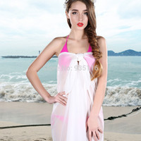 bathing suit coverup - Solid Beach Cover Up Swim Bikini Bathing Suit Cover Ups Swimsuit Sexy Swimwear Women Beach Wear Coverup Pareo Summer Wrap Robe