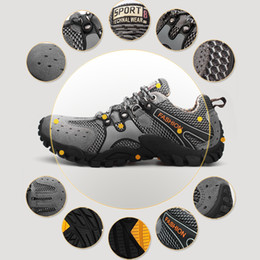 40% Off 2015 Waterproof Hiking Shoes Outdoor Fun & Sports Shoes Rock Breathable Mountain Climbing Shoes Boots
