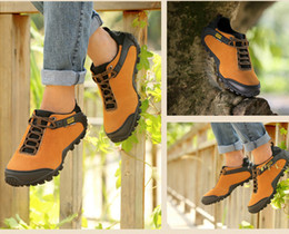 Hot Sale Brand New Leisure Men Hiking Shoes Outdoor Mountain Climbing Must Have Genuine Leather Lace Up Fashion Trekking Shoe