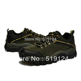 Free shipping new 2015 winter hiking shoes men designer brand hiking walking shoes outdoor sports shoes cheap red bottom shoes