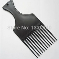 afro comb - Pick Combs woman man hair Pocket Sized Travel DETANGLE AFRO lift Comb wig pik Pick Pic styling tools
