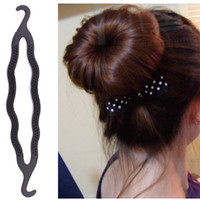 animal hairstyles - y saving donut bride pan head on the Department of a female hairstyle tool Korean Tiara hair ornaments factory