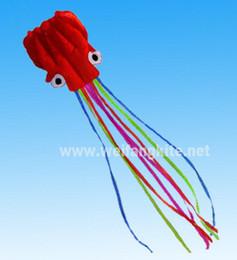 5.5m Stunt POWER Sport Kite Lovely red octopus