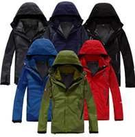 Wholesale 2015 New Classic Men s Outdoor Triclimate in1 Hiking Jacket Climbing Jacket