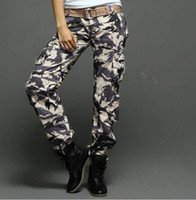 Wholesale Hottest Matchic Women s Camouflage Cargo Pants Hiking amp camping M