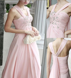 Wholesale 2012 new hot sexy elegant beaded Formal Gowns floor length Prom Party Evening Cocktail Dress