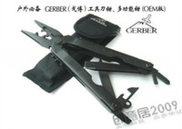 Wholesale 5Pcs GERBER outdoor multifunctional tool pliers Knife multifunctional pliers hand pliers