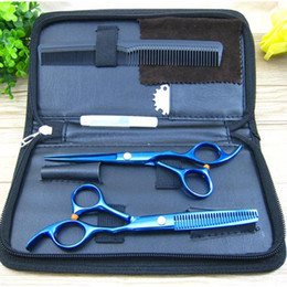 Wholesale-Retail Wholesales Professional Salon Hair Cutting+Thinning Scissors Barber Shears Hairdressing Set