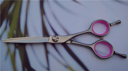 Wholesale-New model arrive,double tail nails,professional salon use hairdressing scissors