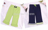 baby athletic clothes - 2015 New Style Baby Pants Pieces M Cotton Blue Green Athletic Feature Para Bebe Trousers Baby Clothing