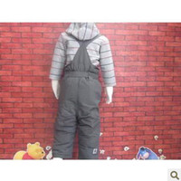 baby ski boots - new arrival winter topolino baby boy overalls windproof thickening warm snow ski suit suspender trousers
