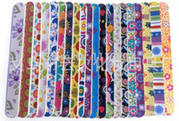 Wholesale Factory price for EVA Nail File Double sided printing fine polishing Nail file