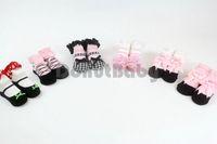 baby jane socks - 3 Pairs Cotton Baby Girl Party Socks Mary Jane Ballet Rose Baby Socks Brand New m DonutBaby DBG003