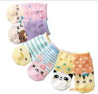bamboo panda socks - Panda baby socks pairs children socks cartoon socks for newborn to months baby