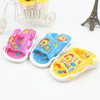 baby sound shoes - 2015 Hot Sale Summer Style Cute Dophine Fish Children Sandals PVC Baby Shoes Kid s Slippers For Boys Girls Squeaking Sound