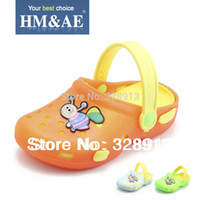 bee shoes kids - Childrens sandals slippers for toddlers boys girls summer soft PVC kids shoes lovely bees baby beach sandals