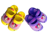 baby bathroom accessories - 2015 Baby girls summer sandals slippers eva cartoon boys bathroom slip resistant shoes all for children clothing and accessories