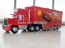 Wholesale Brand New Original Scale Pixar Cars Toys Mack Hauler Truck Diecast Metal Car Toy For Children