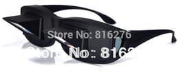 Tv prisma en Línea-Perezoso creativo periscopio horizontal lectura de TV Sit gafas de vista en cama Lie Down Bed Prisma Gafas The Lazy Gafas