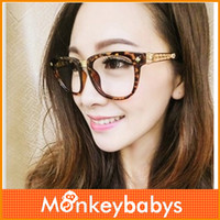 fashion brand reading glasses for women gold silver plated big frame eyewear design alloy black brown eyeglasses js011