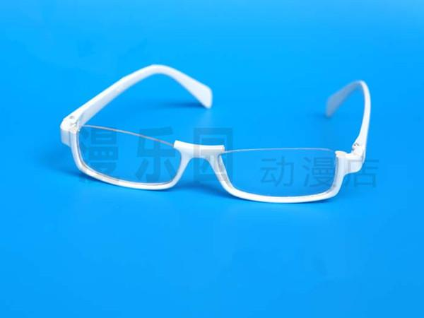 dangan ronpa togami byakuya eyewear white frame cosplay glasses large frame reading glasses pocket reading glasses from gwyseller 2352 dhgatecom